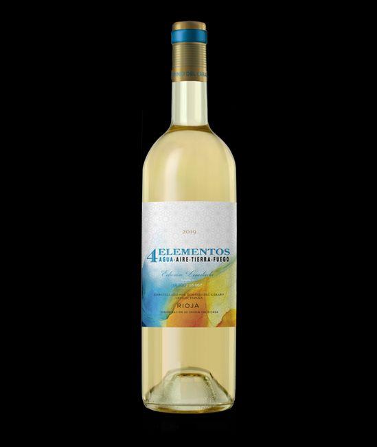Vino blanco Rioja 4 elementos