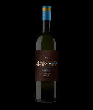 Vino crianza Rioja 4 Elementos