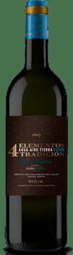 4 Elementos vino crianza de Rioja