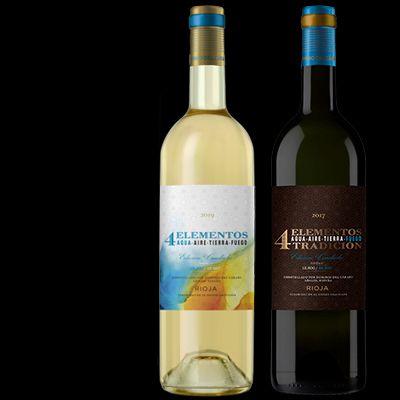 4 elementos vinos de Rioja